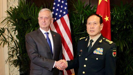 Sự thù địch chiến tranh kinh tế có thể giữ quan hệ quân sự Hoa Kỳ-Trung Quốc trong tình trạng căng thẳng