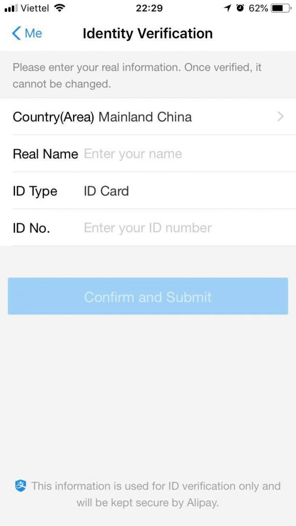 Tải về ứng dụng Alipay cho điện thoại đi động