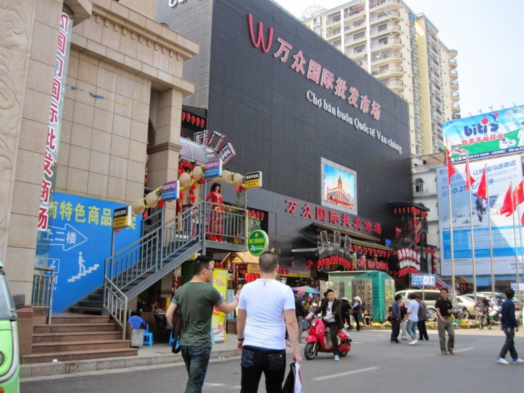 Thương mại biên giới phát triển mạnh ở chợ Đông Hưng Trung Quốc